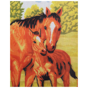 کوبلن طرح اسب مادر کد E300