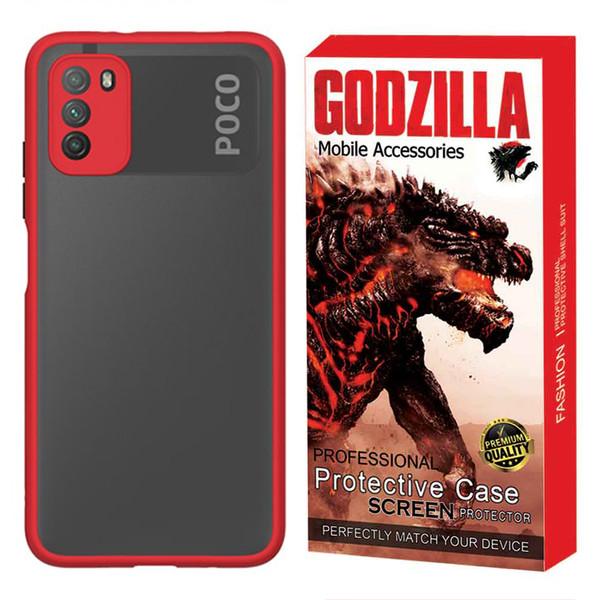 کاور گودزیلا مدل CGMA-LE مناسب برای گوشی موبایل شیائومی POCO M3
