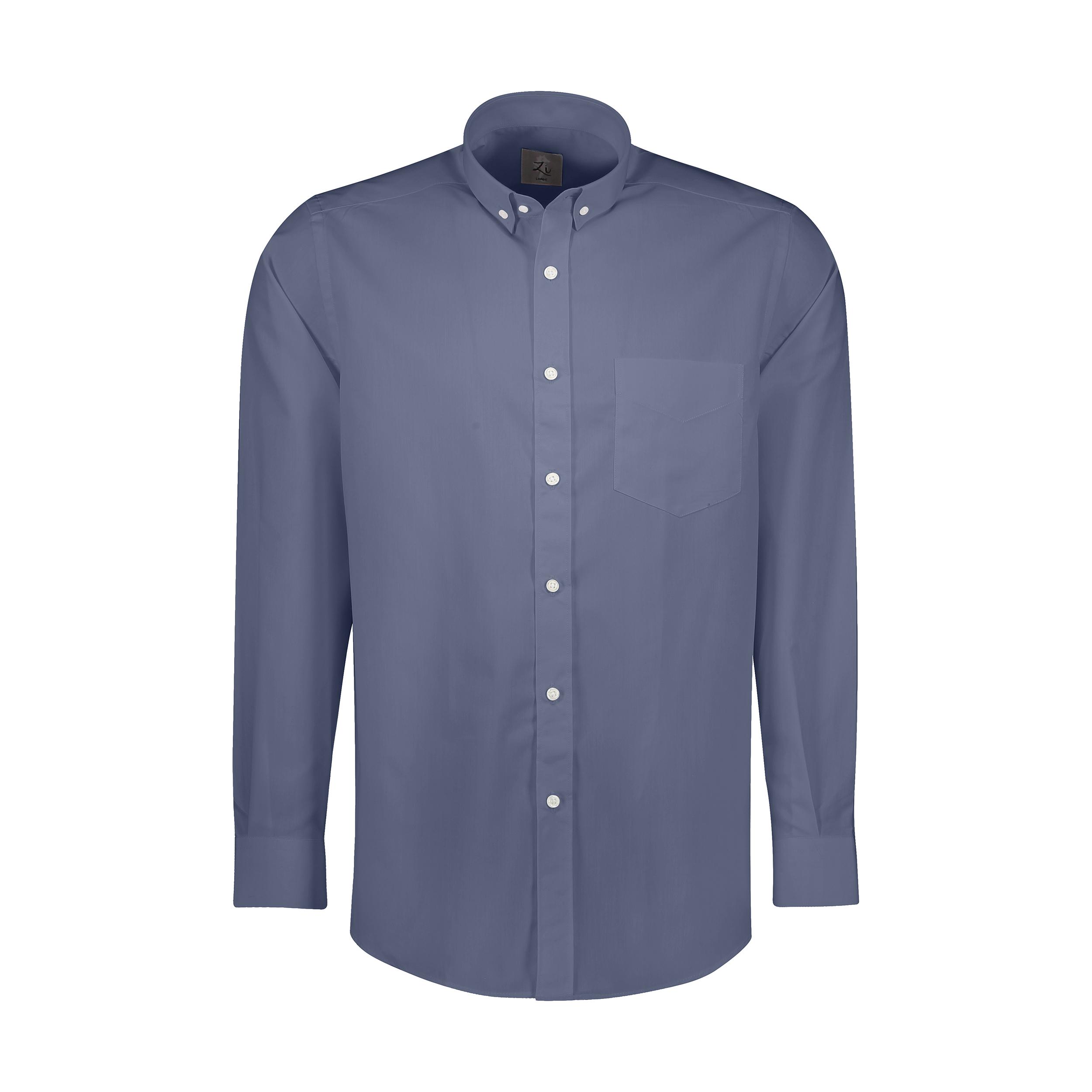 پیراهن آستین بلند مردانه زی مدل 153139277