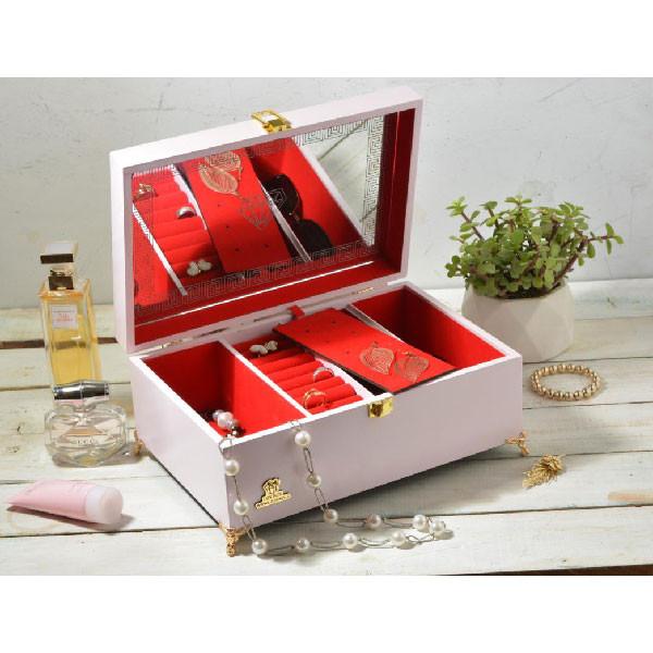 جعبه جواهرات لوکس باکس مدل دایموند کد LB300-W