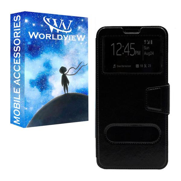 کیف کلاسوری ورلد ویو مدل WKAHESHI-1 مناسب برای گوشی موبایل سامسونگ Galaxy A12