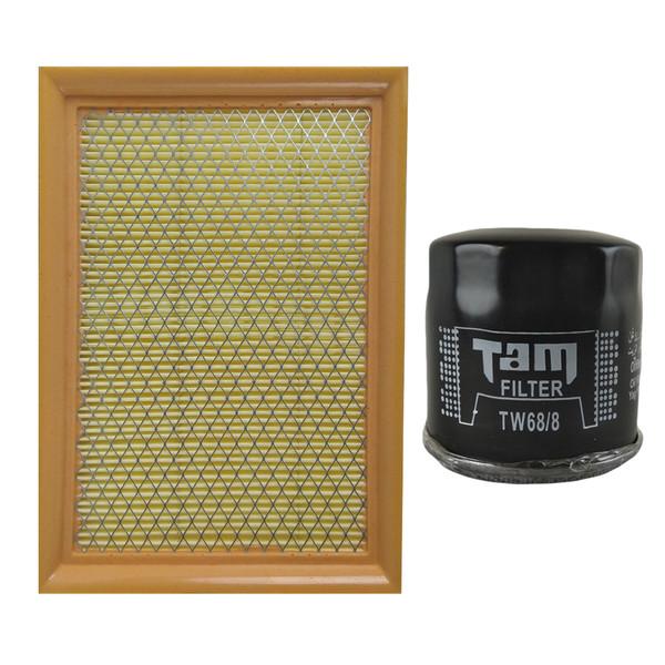 فیلتر روغن تام مدل TW68/8 مناسب برای پراید انژکتوری به همراه فیلتر هوا