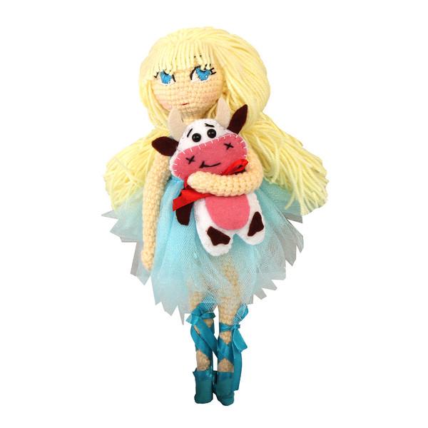 عروسک بافتنی پریا مدل Elsa02