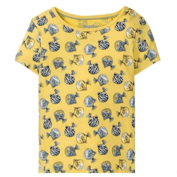تی شرت آستین کوتاه دخترانه پیپرتس مدل TIPI24