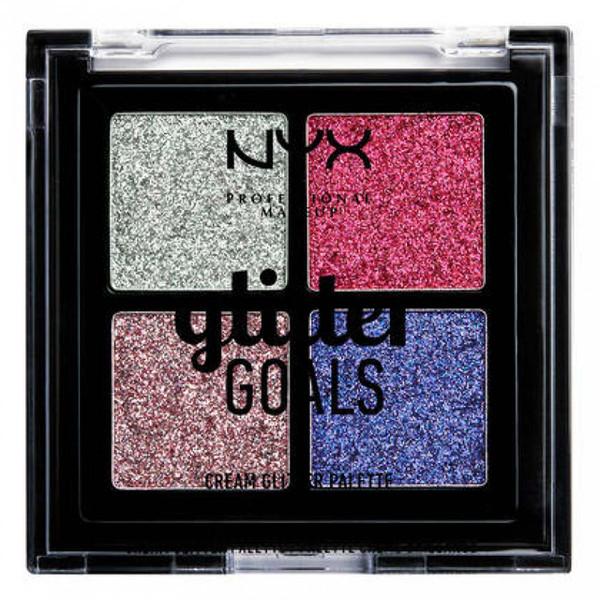 پالت سایه چشم نیکس مدل Glitter Goals شماره 03