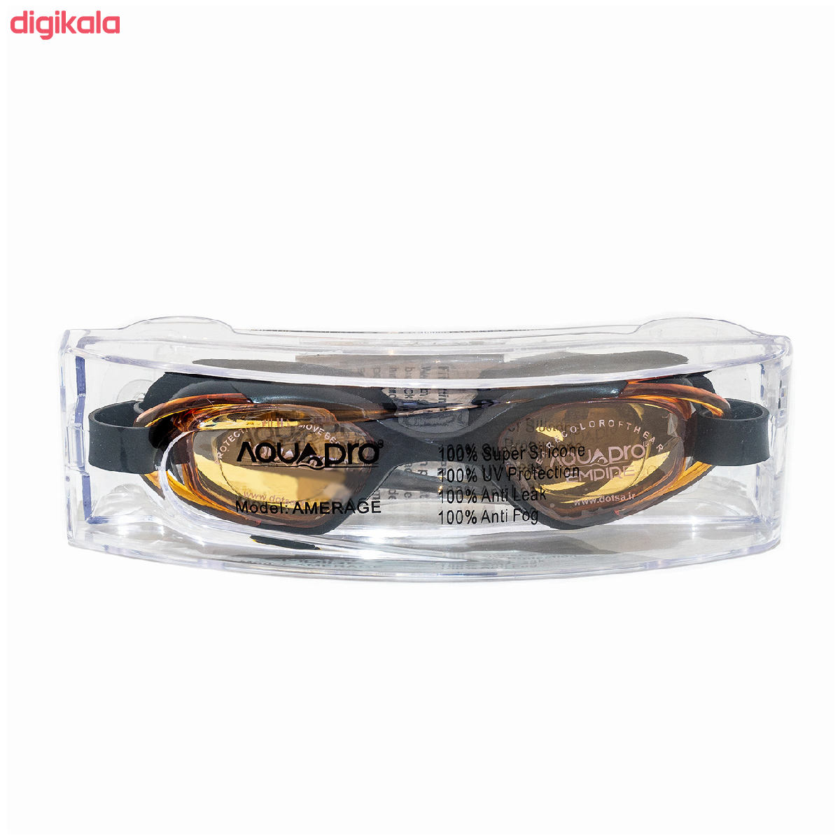 عینک شنا اکوا پرو مدل AMERAGE main 1 4