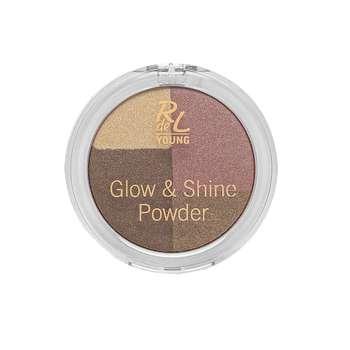 هایلایتر ریوال د یانگ مدل glow & shine powder شماره 02