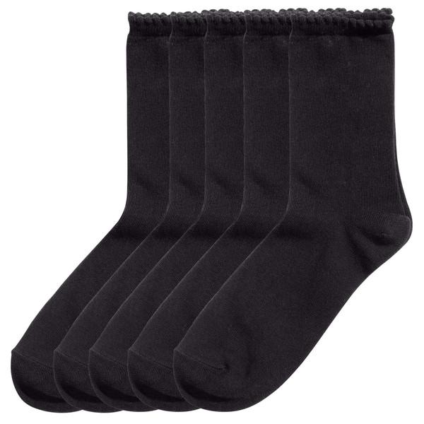 جوراب زنانه اچ اند ام مدل 0164912001 بسته 5 عددی