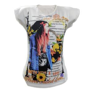 تی شرت زنانه مدل ZTHATWINTB