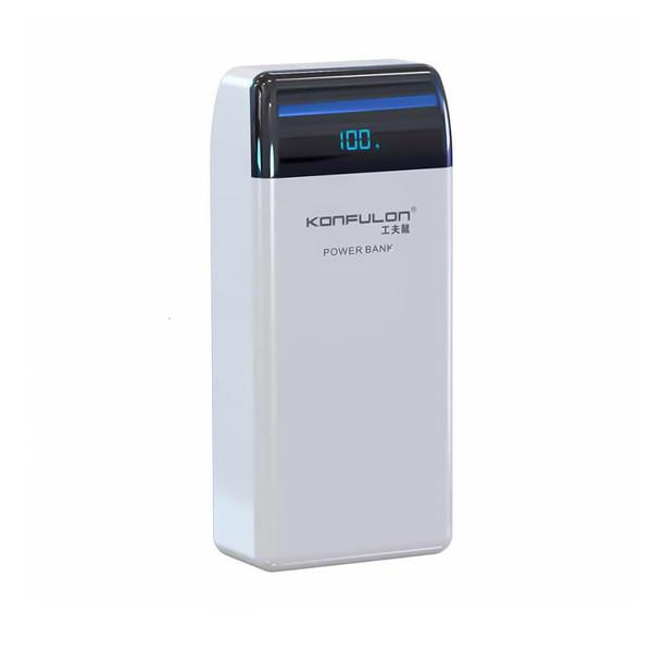 شارژر همراه کانفلون مدل KNP30Q ظرفیت 30000 میلی آمپر ساعت