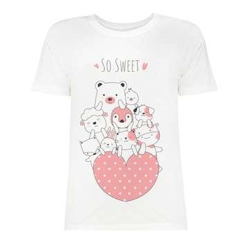 تی شرت زنانه کد SK0004-102
