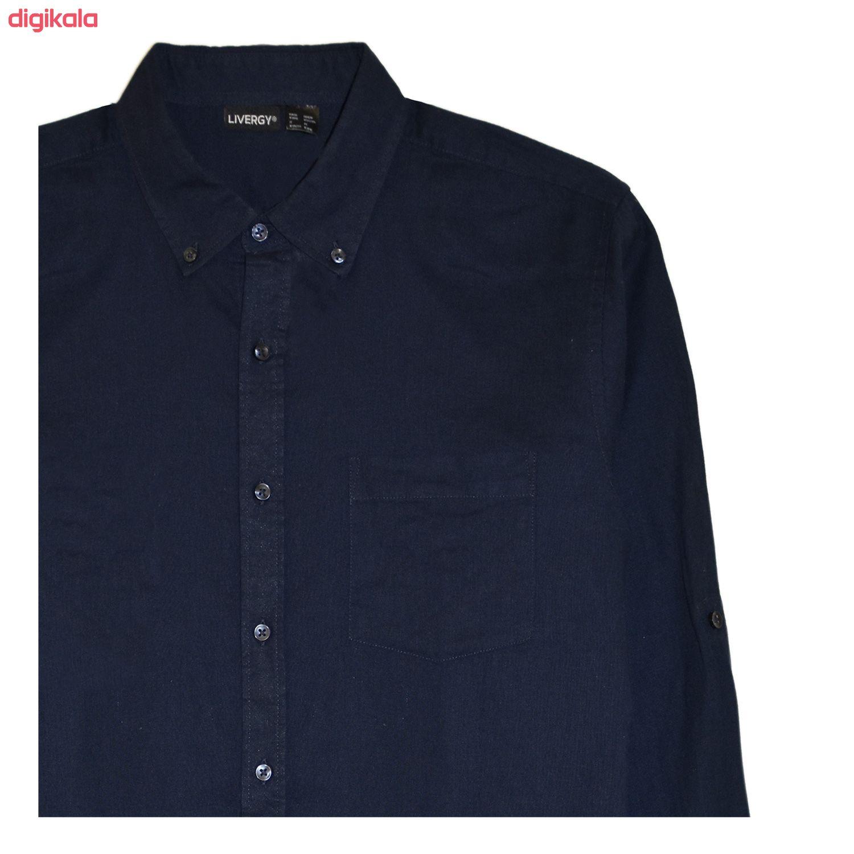 پیراهن آستین بلند مردانه لیورجی مدل 3257641 main 1 3