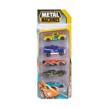 ماشین بازی زورو مدل Metal Machines مجموعه 5 عددی