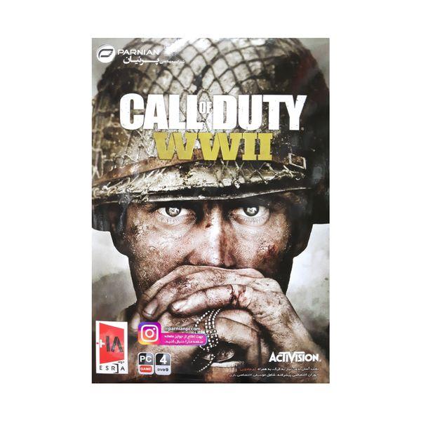 بازی call of duty wwII مخصوص pc