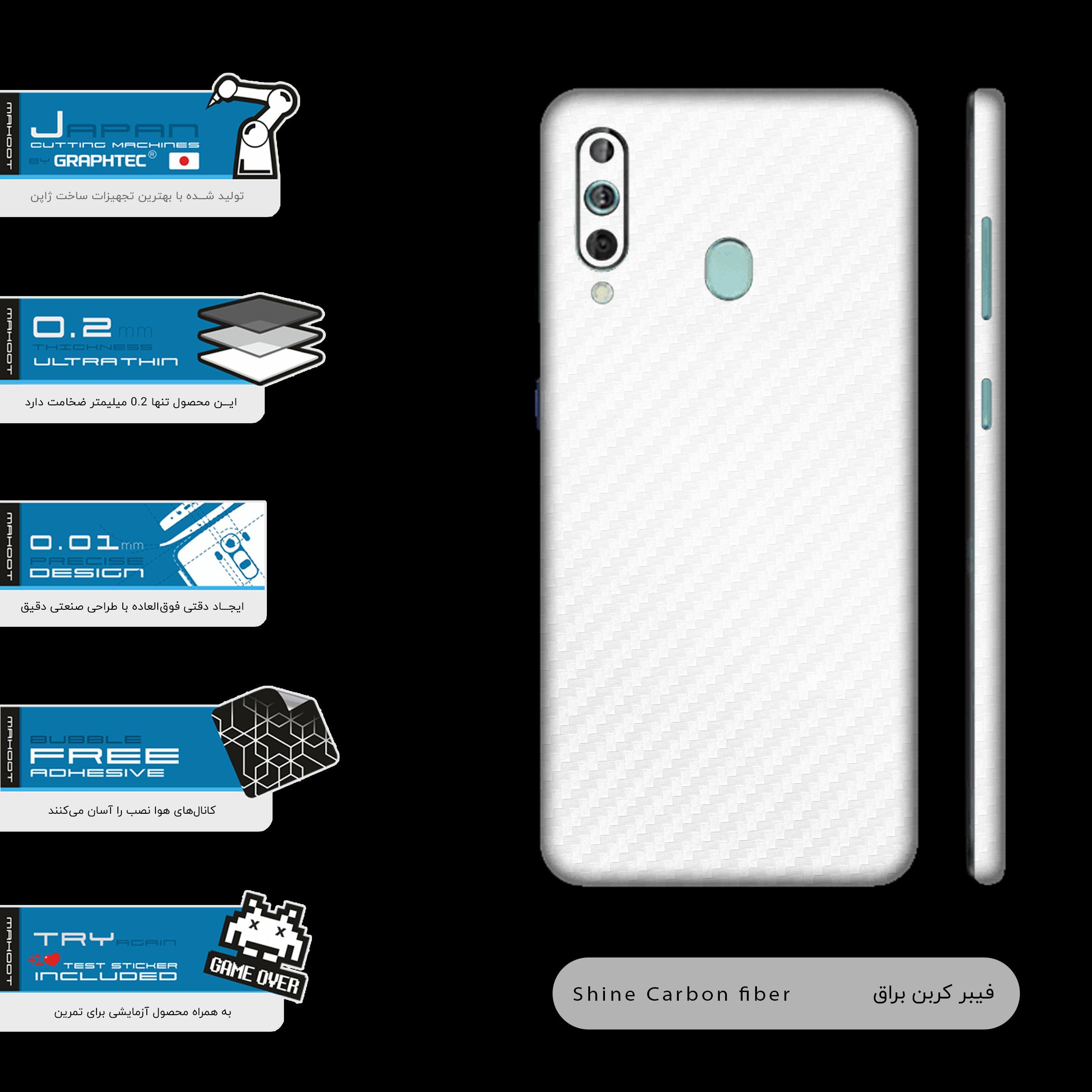 برچسب پوششی مدل Ceramic-Fiber مناسب برای گوشی موبایل سامسونگ Galaxy A60