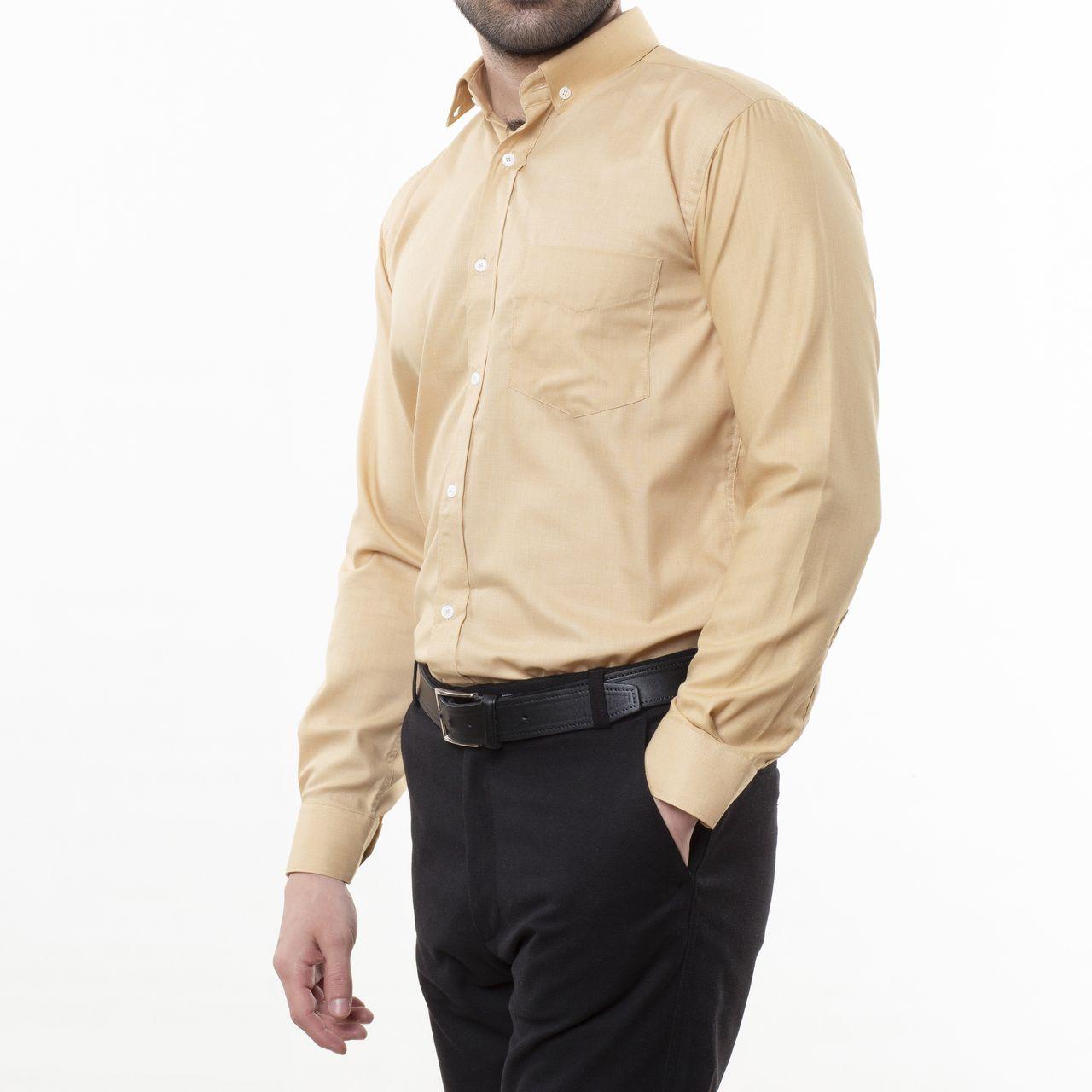 پیراهن آستین بلند مردانه زی مدل 153140506