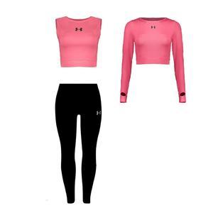 ست 3 تکه لباس ورزشی زنانه مدل 63-6401