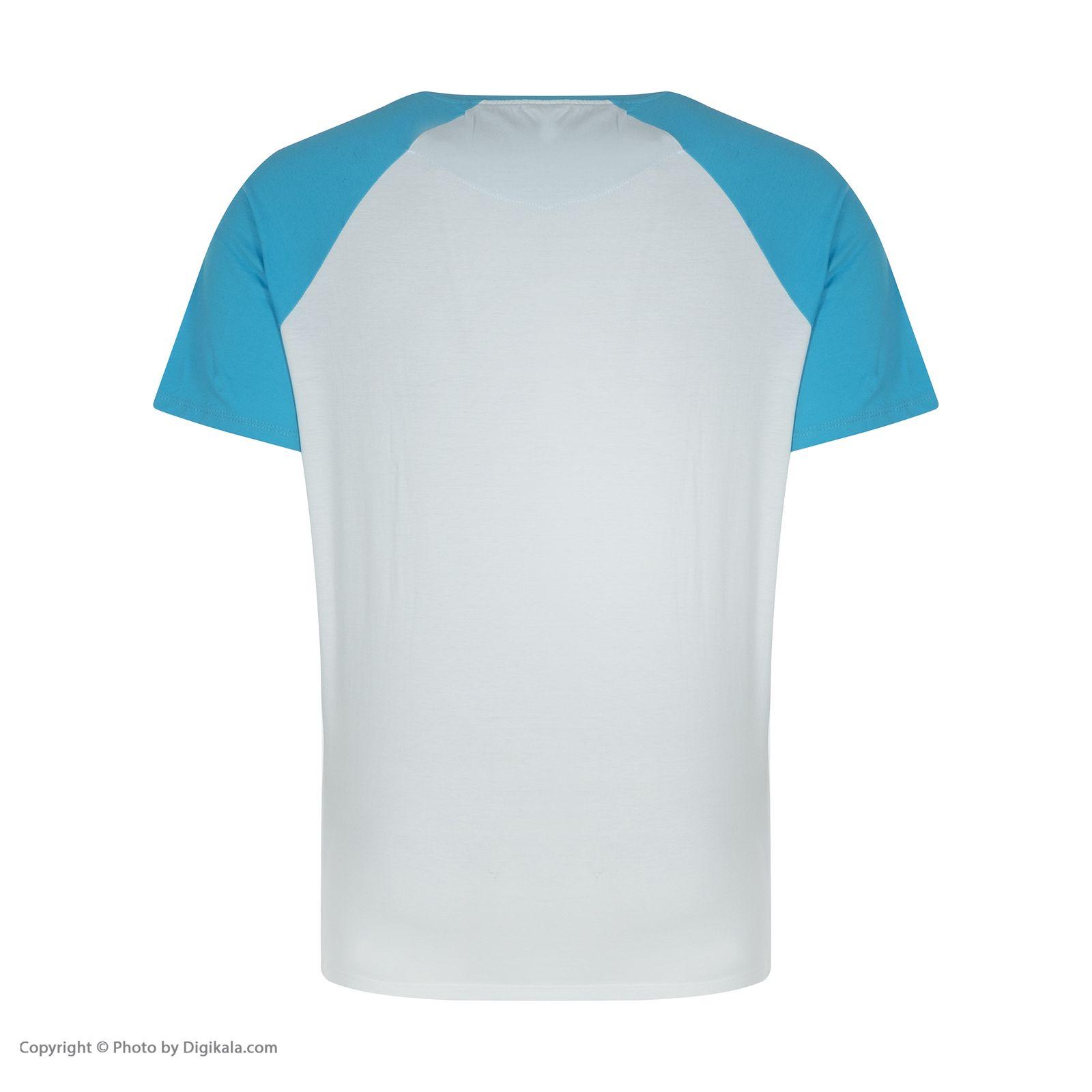 ست تی شرت و شلوارک راحتی مردانه مادر مدل 2041107-52 -  - 6