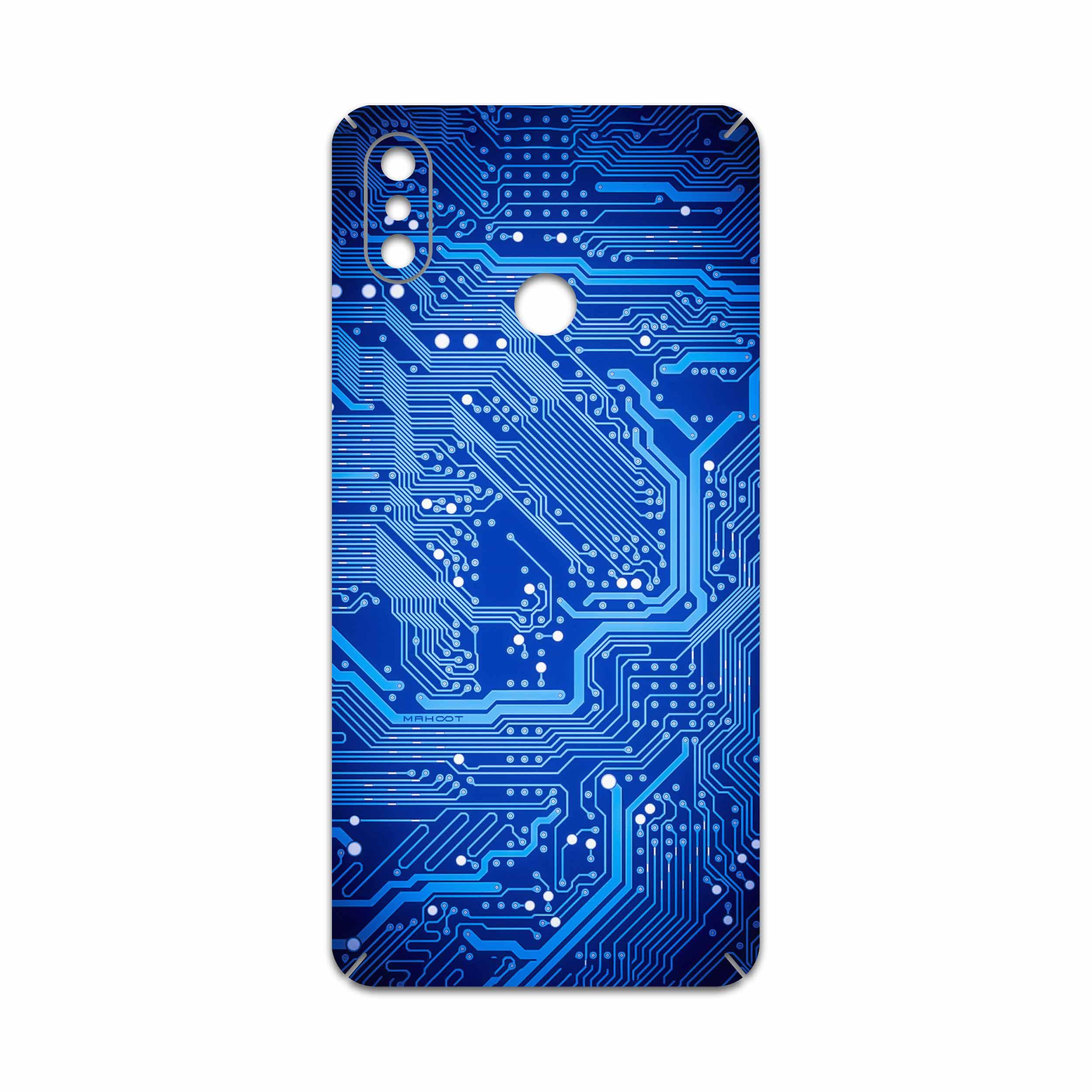 برچسب پوششی ماهوت مدل Blue Printed Circuit Board مناسب برای گوشی موبایل شیائومی Mi Max 3