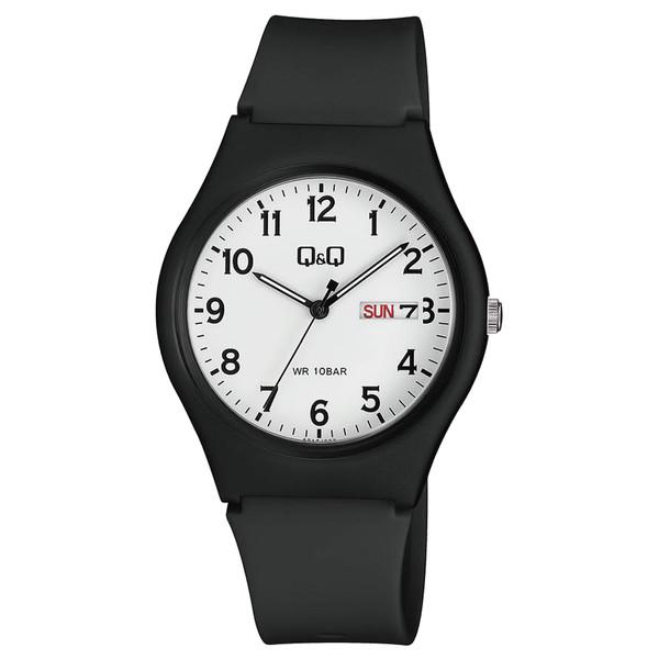 ساعت مچی عقربه ای زنانه و مردانه کیو اند کیو مدل A212J003Y