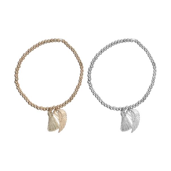 دستبند زنانه اکسسورایز مدل 5045461693397 مجموعه 2 عددی