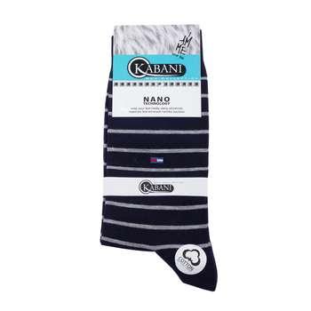 جوراب مردانه کابانی مدل T2020 کد 77 رنگ سرمه ای
