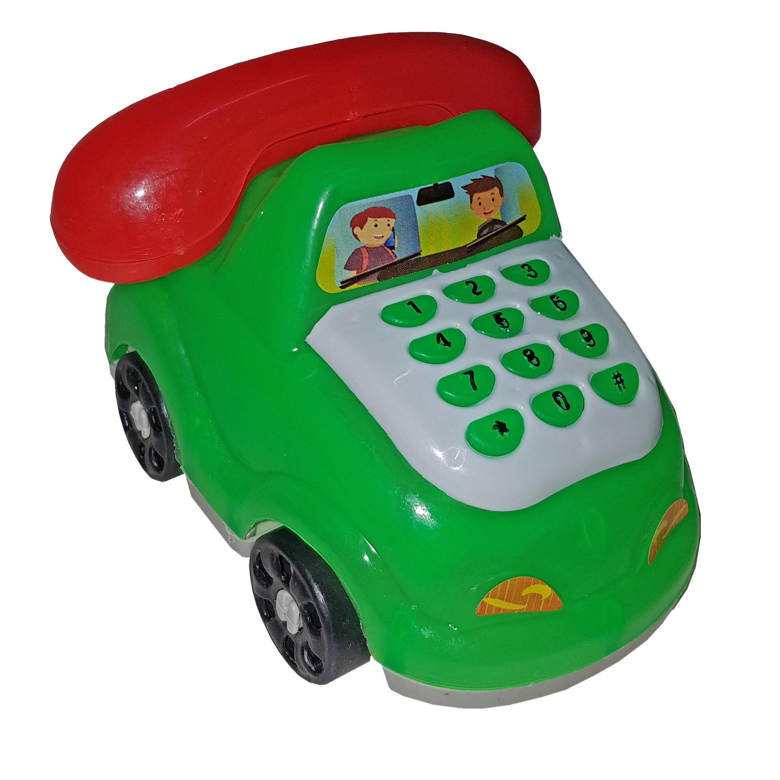 اسباب بازی لوازم خانه طرح ماشین مدل تلفن