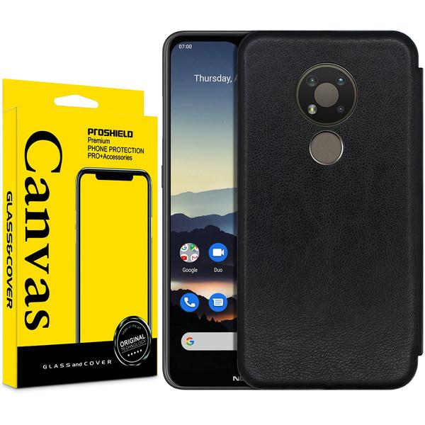 کیف کلاسوری کانواس مدل MAX SERIES مناسب برای گوشی موبایل نوکیا 5.4 / 3.4
