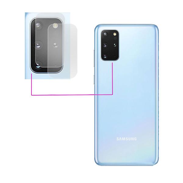 محافظ لنز دوربین مدل LTP مناسب برای گوشی موبایل سامسونگ Galaxy S20 Plus بسته دو عددی