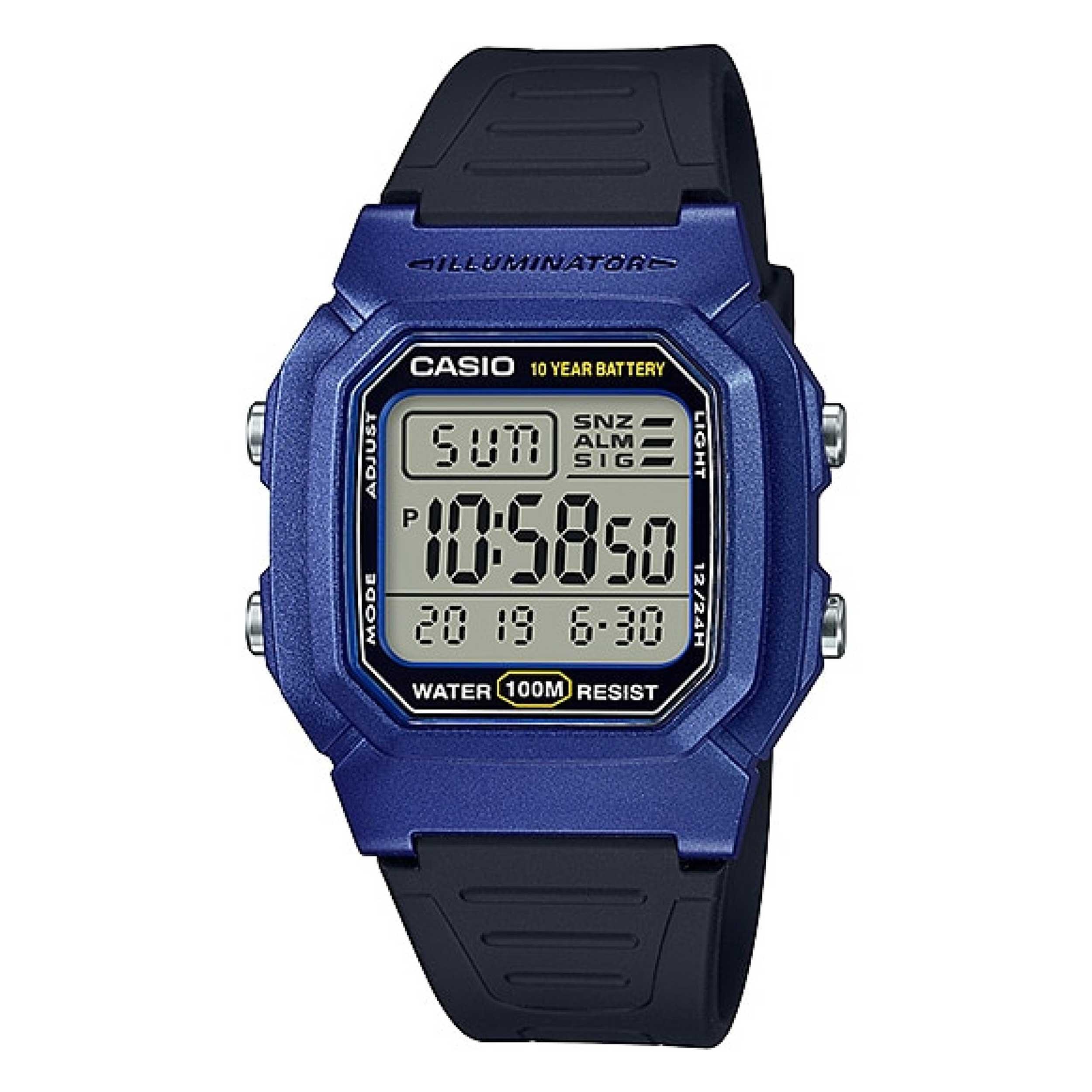 قیمت و خرید                       ساعت مچی دیجیتال کاسیو مدل W-800HM-2AVDF