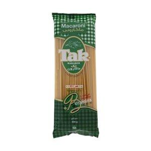 ماکارونی قطر 3.1 غنی شده با ویتامین B تک ماکارون مقدار 500 گرم