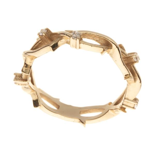 انگشتر طلا 18 عیار زنانه مایا ماهک مدل MR0636