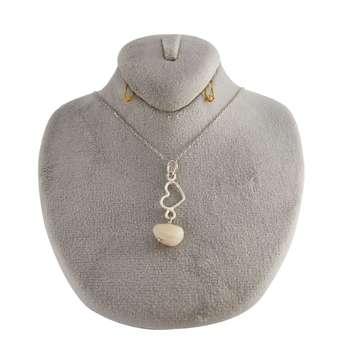 گردنبند نقره زنانه کد 205