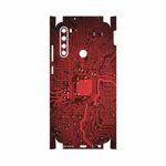 برچسب پوششی ماهوت مدل Red Printed Circuit Board-FullSkin مناسب برای گوشی موبایل شیائومی Redmi Note 8T