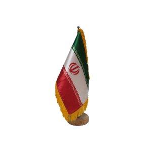 پرچم رومیزی ایران اسکرین طرح ایران مدل 2030405021