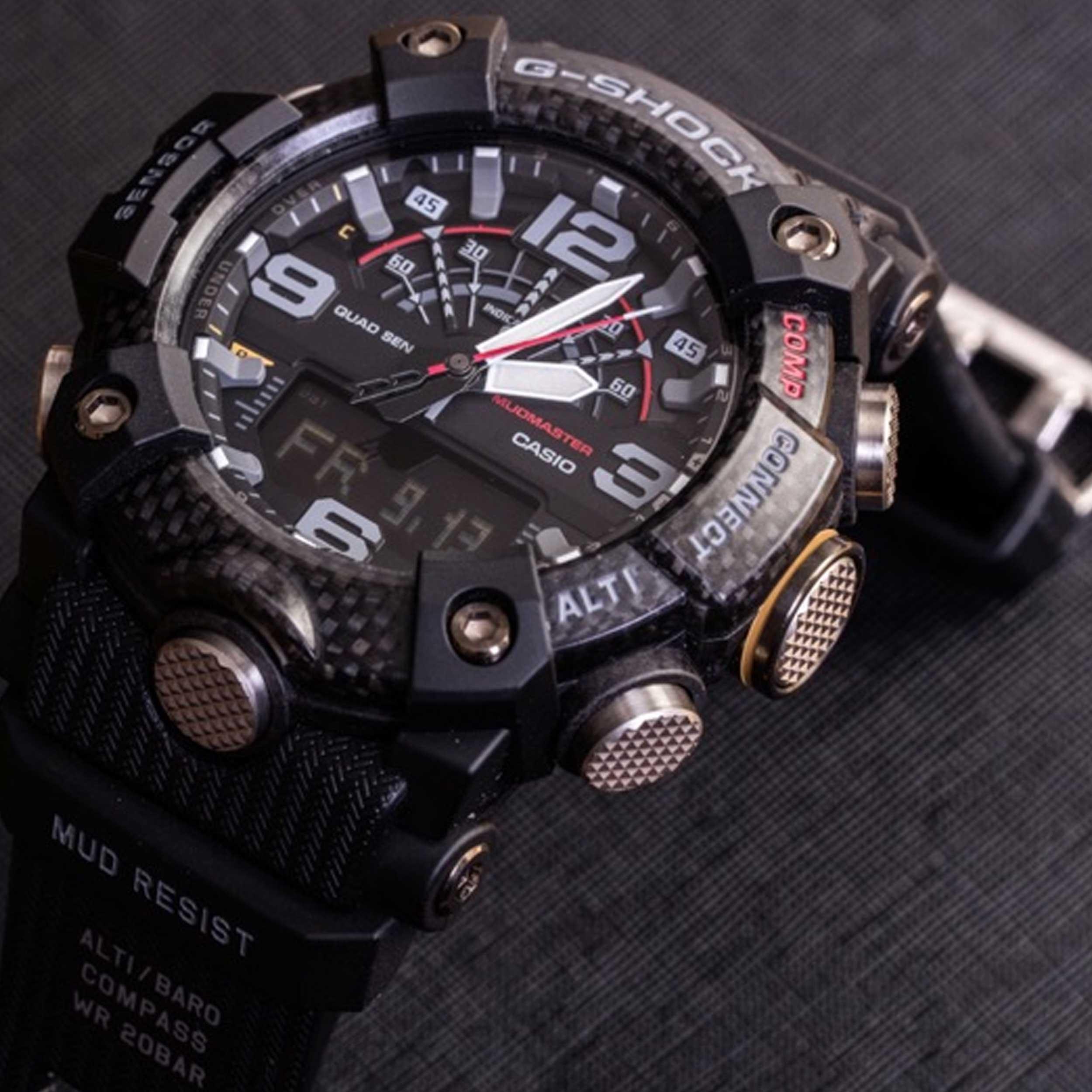 ساعت مچی عقربهای مردانه کاسیو مدل GG-B100-1ADR