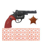 تفنگ بازی گلدن گان مدل naabsell-p70 مجموعه 3 عددی thumb