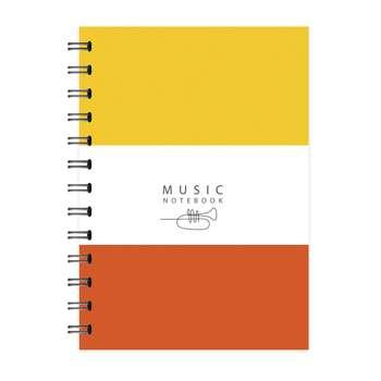 دفتر نت موسیقی 50 برگ پیکولو استودیو مدل Trumpet