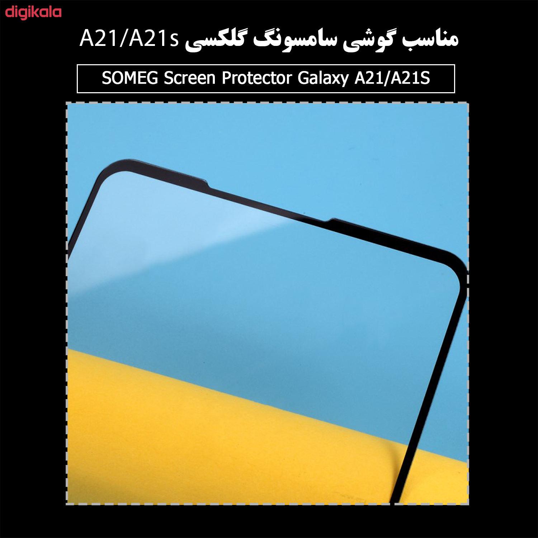 محافظ صفحه نمایش سرامیکی سومگ مدل Ruby-9 مناسب برای گوشی موبایل سامسونگ Galaxy A21 / A21s main 1 7