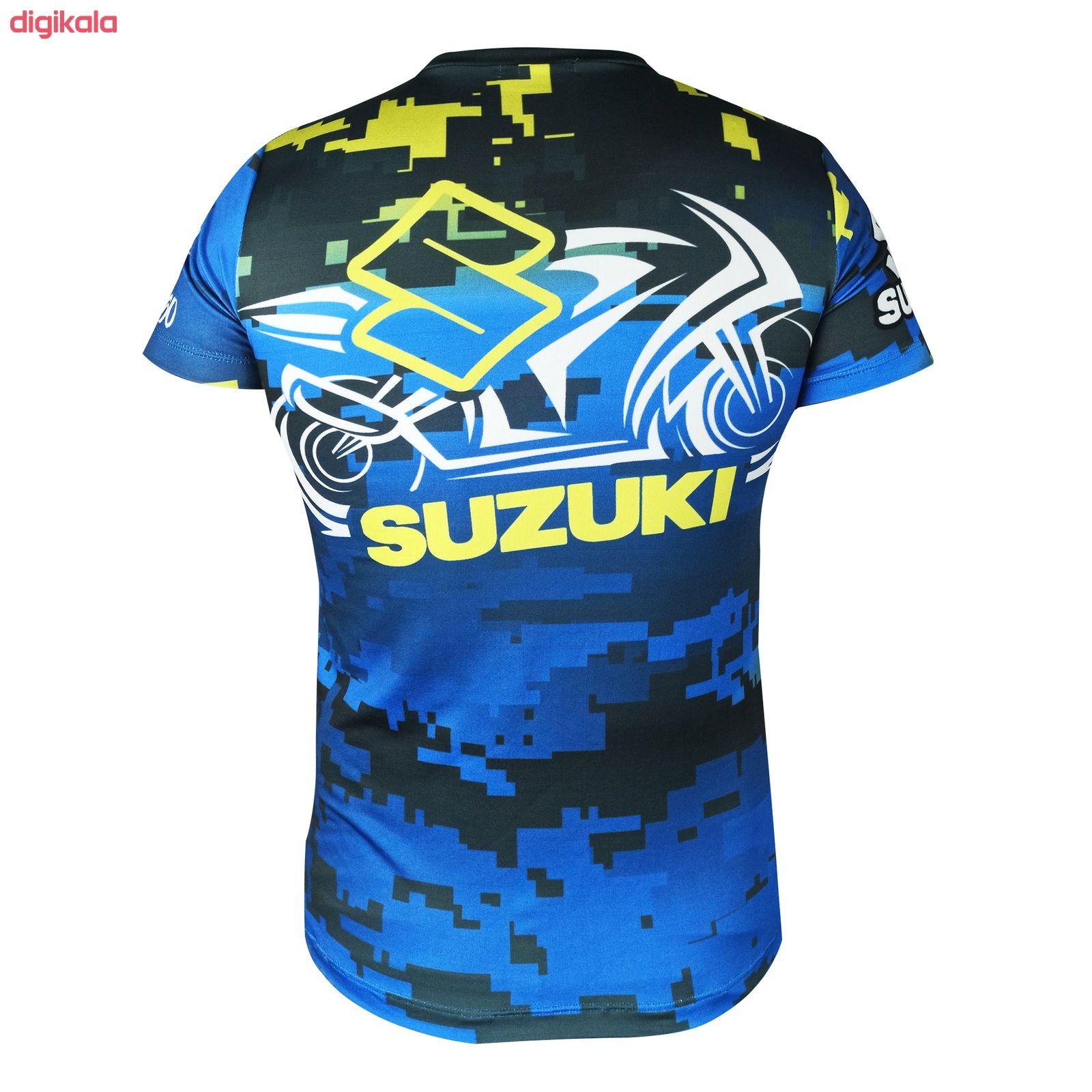 تی شرت موتور سواری مدل SUZUKI main 1 1