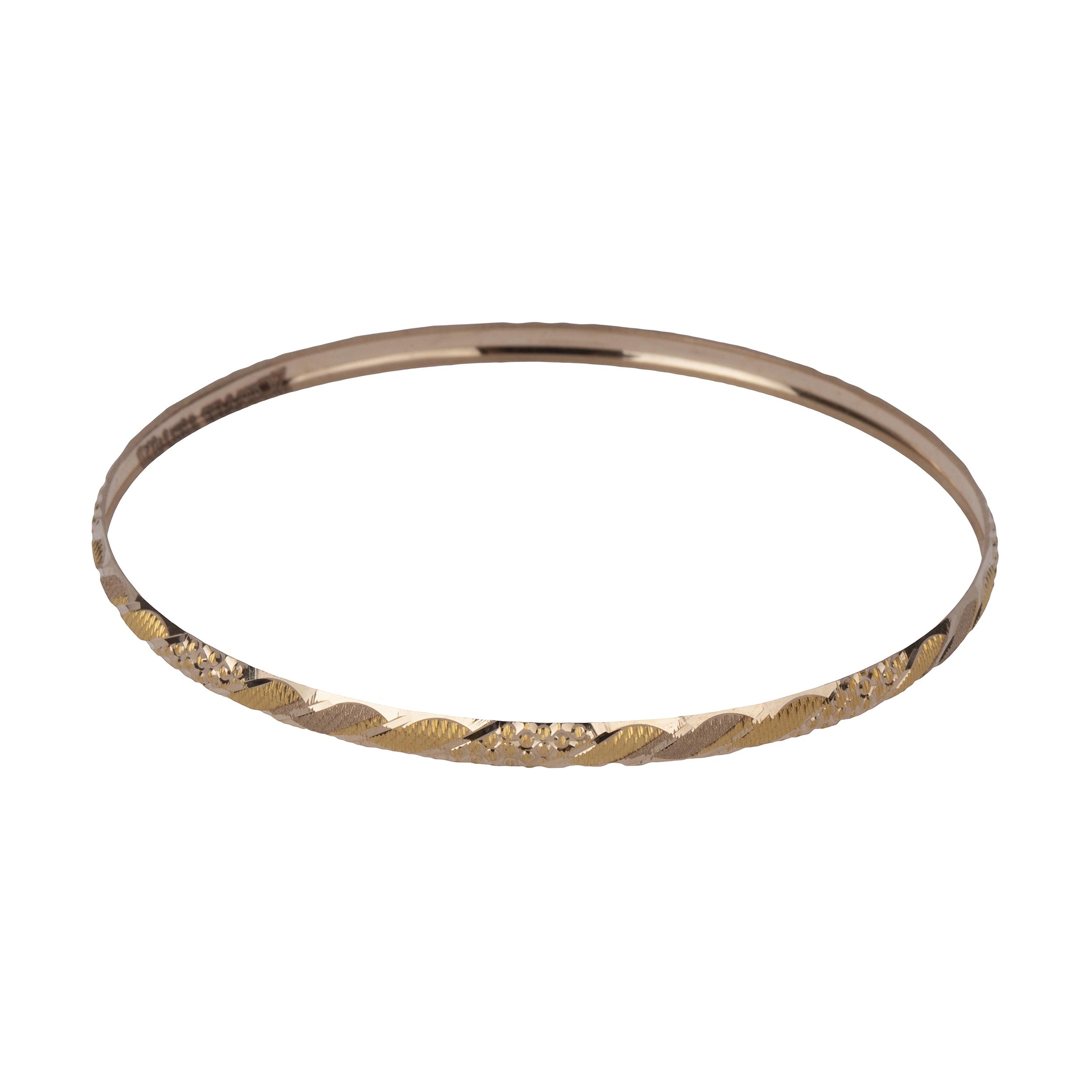 النگو  طلا 18 عیار زنانه گالری یارطلا کد AL42-G-2