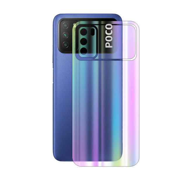 برچسب پوششی راک اسپیس مدلAurora مناسب برای گوشی موبایل شیائومی POCO M3