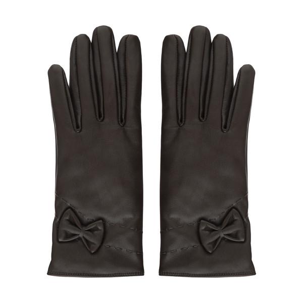 دستکش زنانه چرم مشهد مدل R0160-091