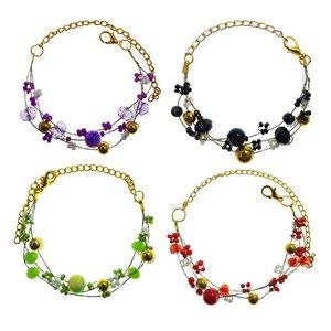 دستبند زنانه سلین کالا کد ce-das-b1 مجموعه4 عددی
