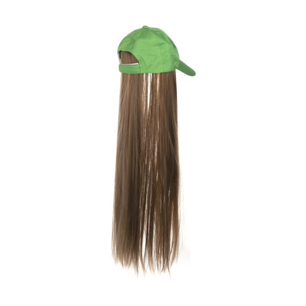 کلاه کپ زنانه مدل 135001 به همراه اکستنشن مو
