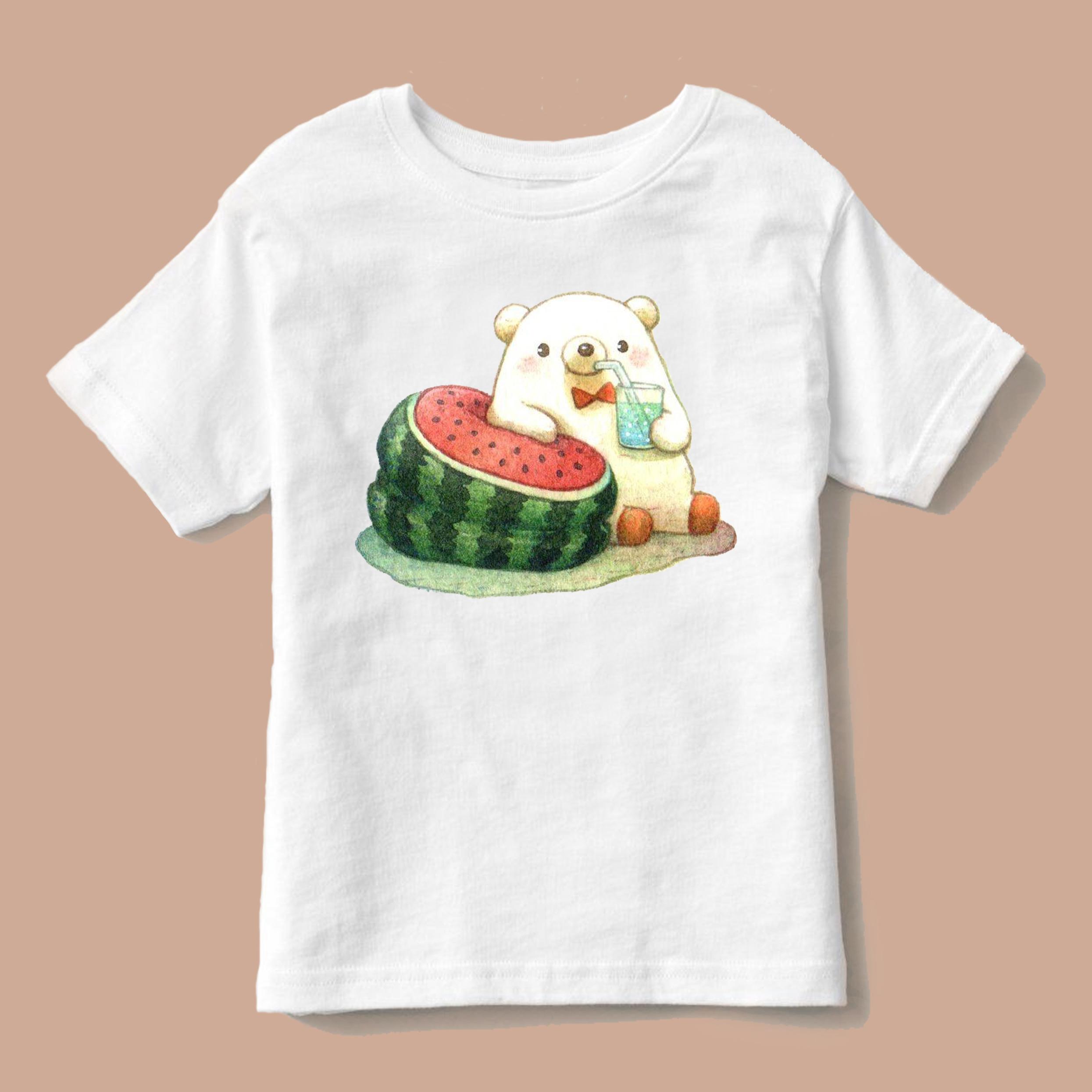 تی شرت بچگانه طرح هندوانه یلدایی کد p8