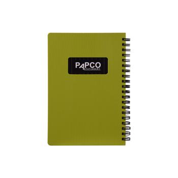 دفتر یادداشت  100 برگ پاپکو مدل متالیک NB-647BC کد HT01