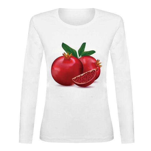 تی شرت آستین بلند زنانه مدل YALDA-SB75