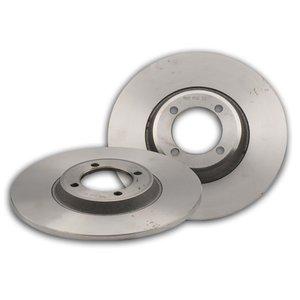 دیسک ترمز چرخ جلو شرکت تولیدی قطعات جلوبندی خودرو ایران لاهیجان کد 02 مناسب برای پیکان بسته 2 عددی