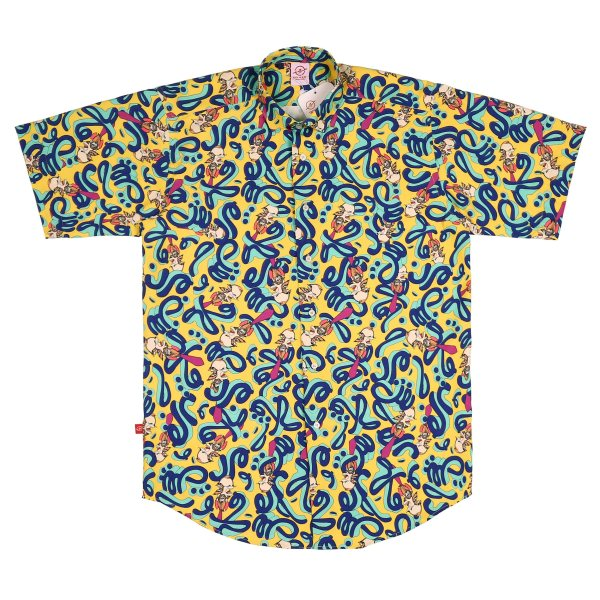 پیراهن آستین کوتاه مردانه تچر مدل مرده و حرفش